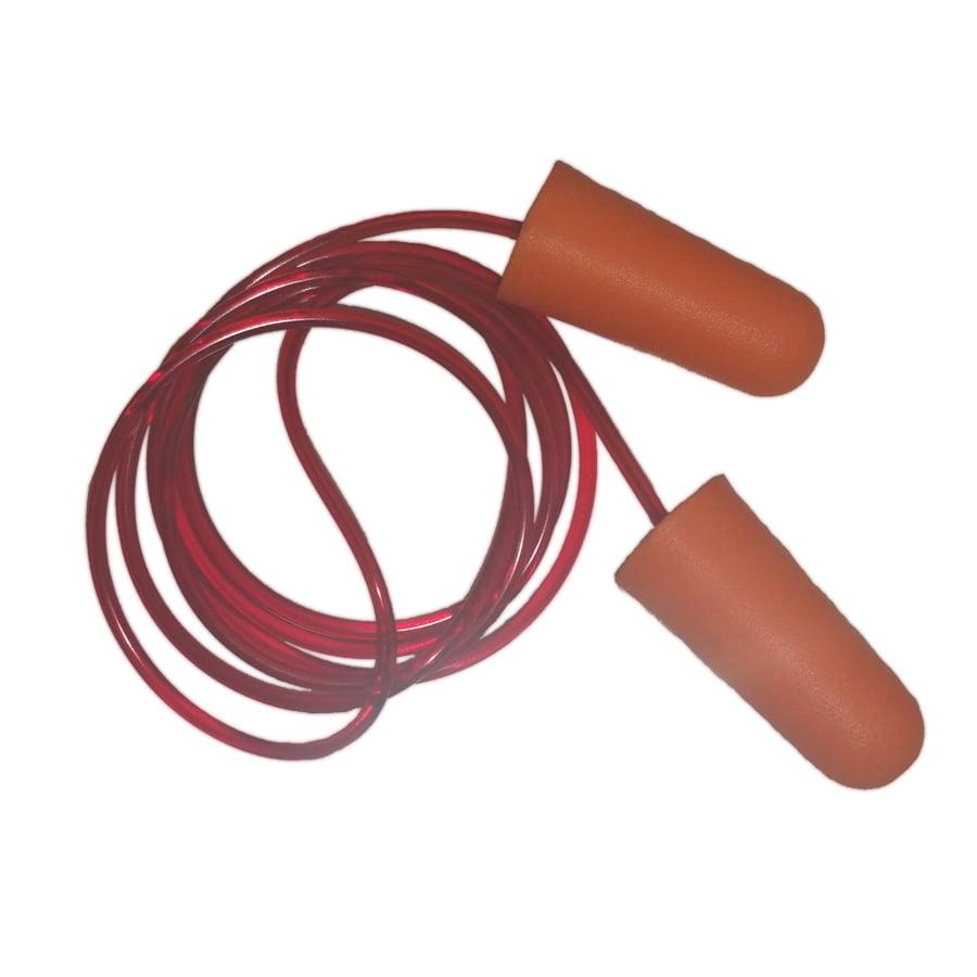 Magid E2 Disposable Foam Corded Earplugs, 200 Pair