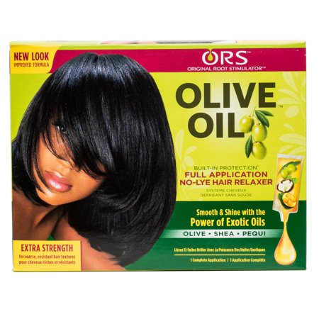 ORS Olive Oil Full Application No-Lye Hair Relaxer - Extra Strength (Best Hair Relaxer For Thick Hair)