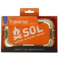 S.O.L. Survive Outdoors Longer Traverse Survival Kit