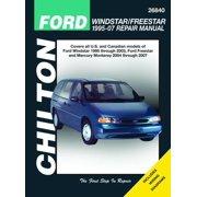 Chilton's Total Car Care Repair Manuals: Ford Windstar/Freestar & Mercury Monerey, 2004-2007 (Paperback)