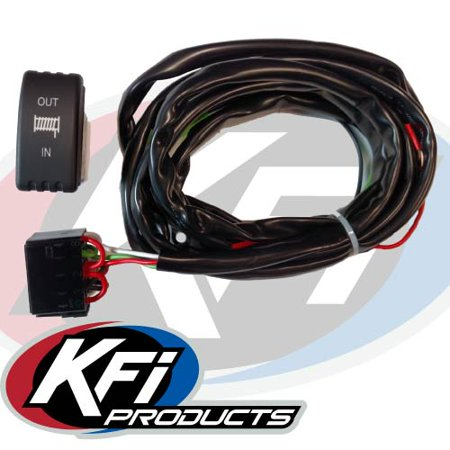 KFI UTV Dash Mounted Winch Rocker Switch Kit UTV-DRS-K Kfi Atv Contactor Wiring Diagram on