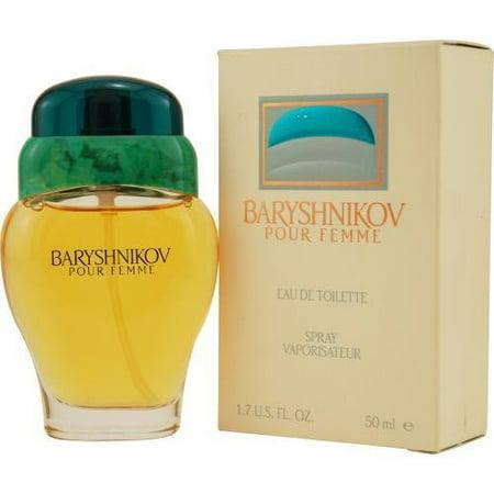 BARYSHNIKOV POUR FEMME 1.7 EDT eau de toilette Women's Spray Perfume NIB 50