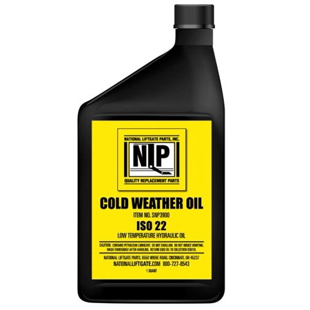 NEW SNOW PLOW COLD WEATHER OIL FITS POURPOINT -60 VISCOSITY INDEX 300 12 QUART/