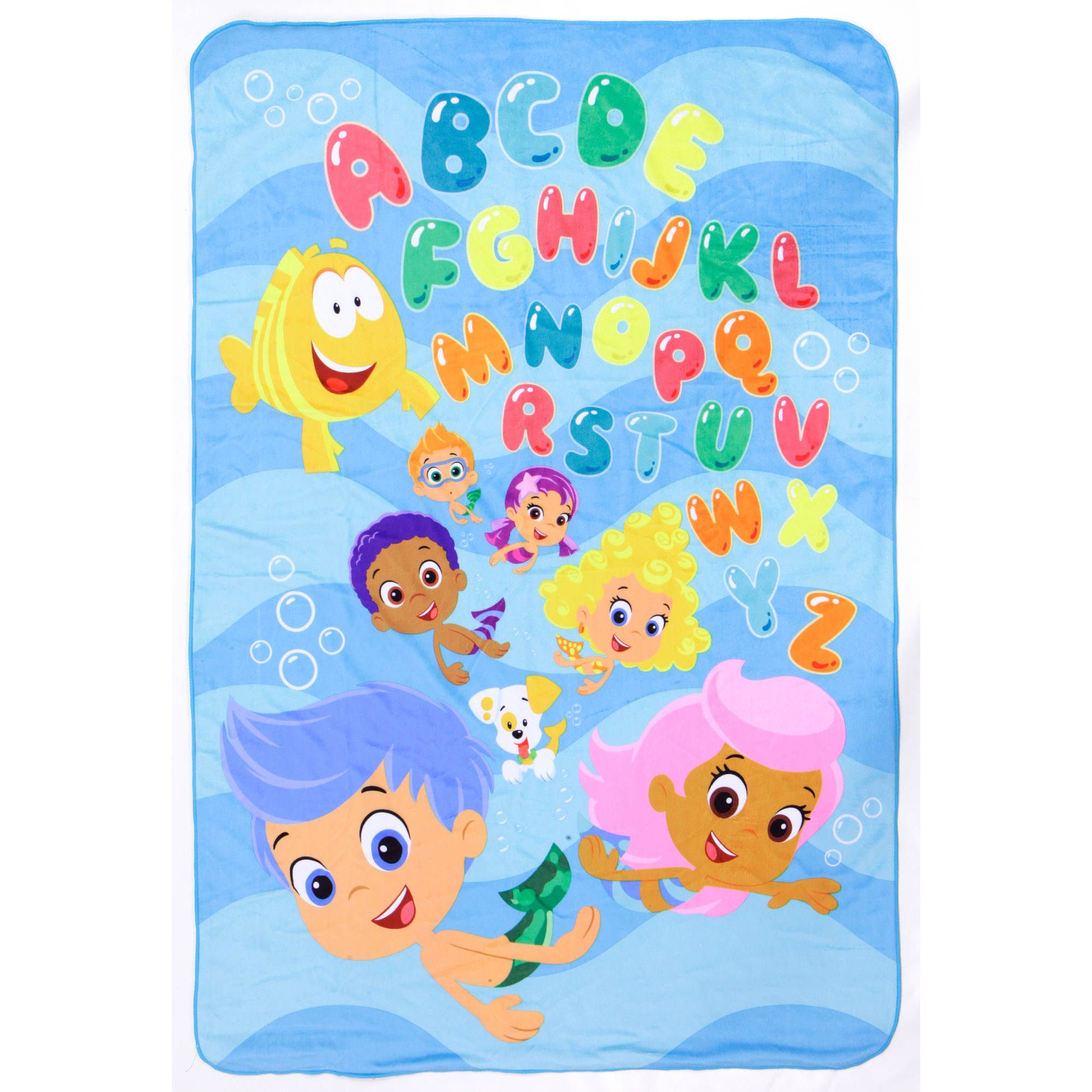 Bubble Guppies Toddler Bed Set With Bonu   Walmart.com