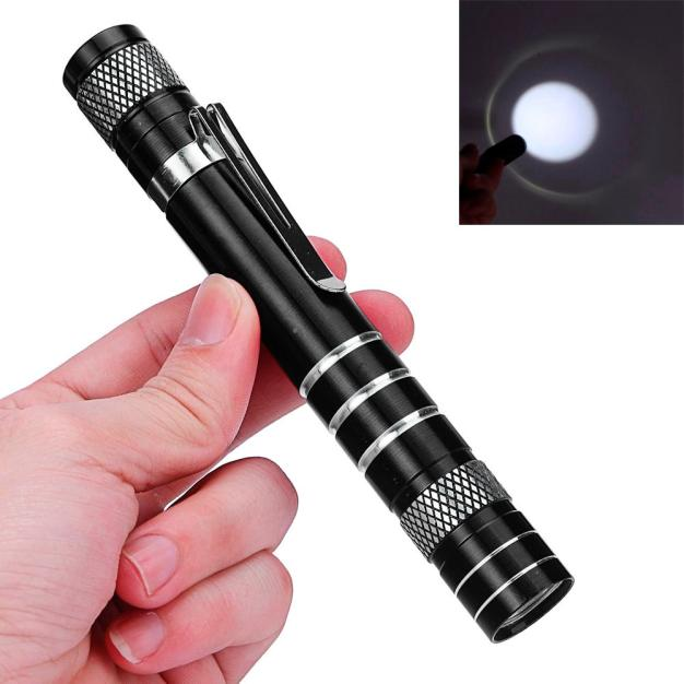 Tuscom Mini 1200LM High Power Torch Q5 LED Tactical Flashlight AA Lamp Light