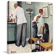 Marmont Hill Before the Shot by Norman Rockwell Canvas Wall Art