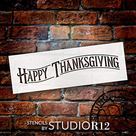 Happy Thanksgiving - Project & Word Stencil - 15