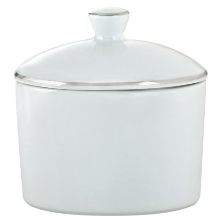 Classic Platinum Sugar Bowl and Cover 1 cup, Perfect for everyday use or for special occasions By Royal Worcester