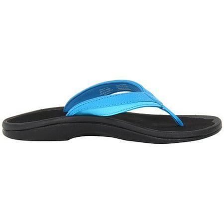 90d44f4aaf1 OluKai - OluKai  Ohana Tropical   Ice Sandal Women s 8 - Walmart.com