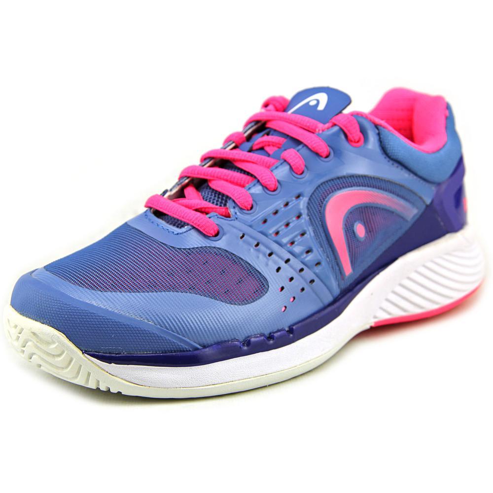 HEAD Women's Sprint Pro Tennis Shoe, Blue/Pink, 7.5 M US