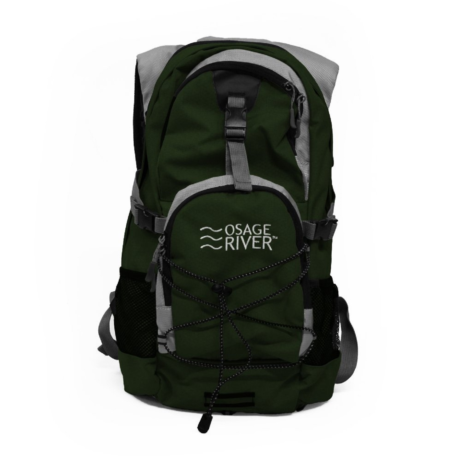 Osage River Drake Hydration Pack - Olive/Gray