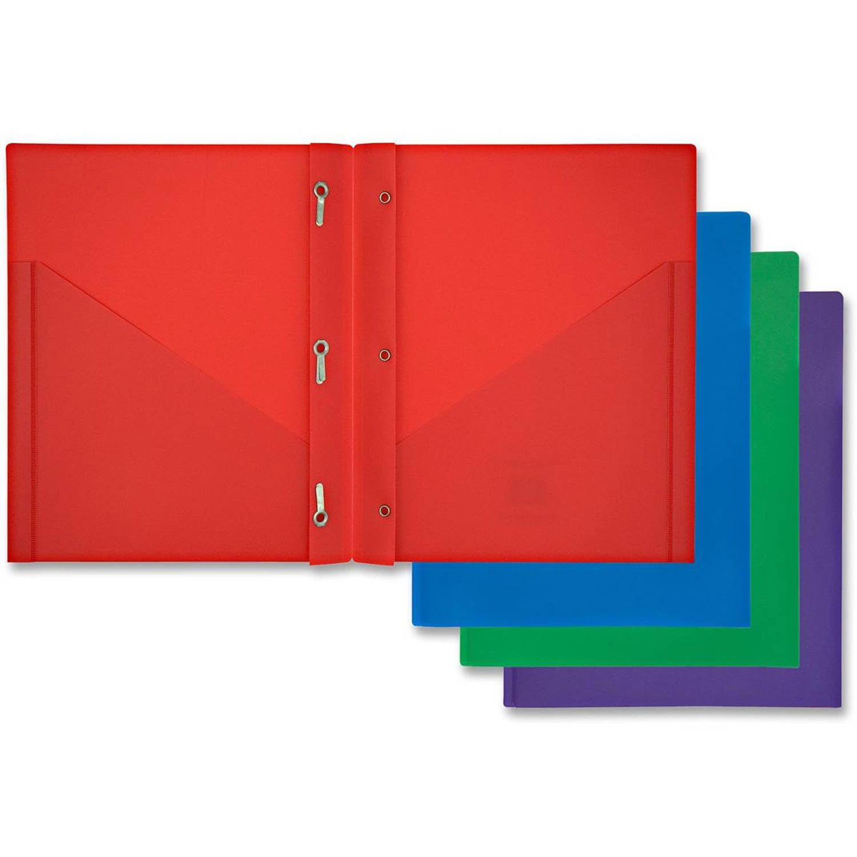 Acco Mead Color Talk Pocket Portfolio