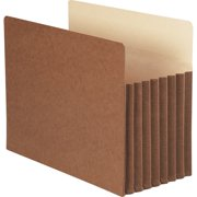 "Smead TUFF® Pocket File Pockets 7"" Exp Redrope 5/BX Letter (73395)"