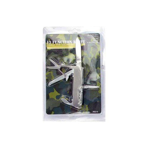Bulk Buys PK016 13 Function Pocket Tool Knife Case of 144