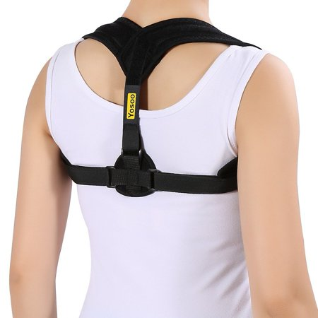 Thoracic Restraint - Posture Corrector Clavicle Support Brace,Comfortable Correct Shoulder Posture Support Strap for Improving Bad Posture, Thoracic Kyphosis, Shoulder Alignment, Upper Back Pain Relief for Men and Women