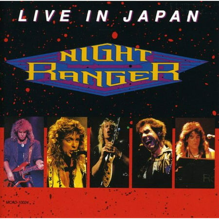LIVE IN JAPAN was recorded on Night Ranger's 1988 Japanese tour.Night Ranger: Jack Blades (vocals, bass); Kelly Keagy (vocals, drums); Brad Gillis, Jeff Watson (guitar); Jesse Bradman (keyboards).Night Ranger's fortunes may have been waning back home in the U.S. by the late 1980s, but the quintet remained as popular as