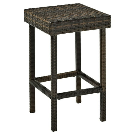 Crosley Palm Harbor Outdoor Wicker Counter Height Stool, Set of 2 ()