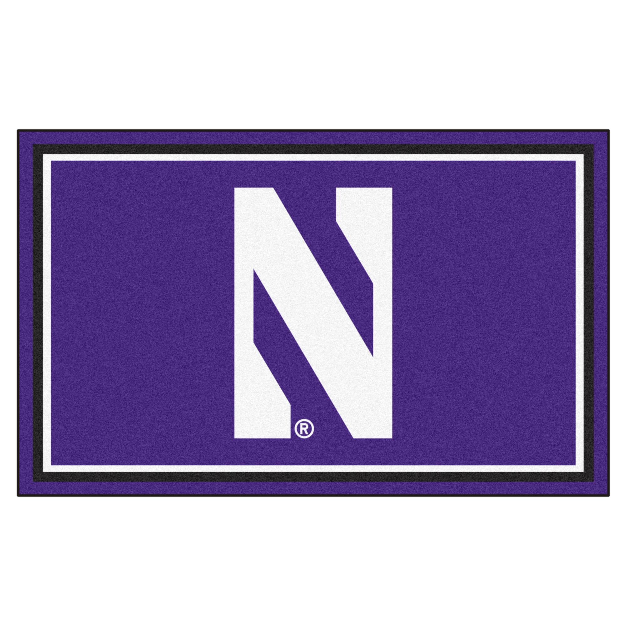 Northwestern 4'x6' Rug