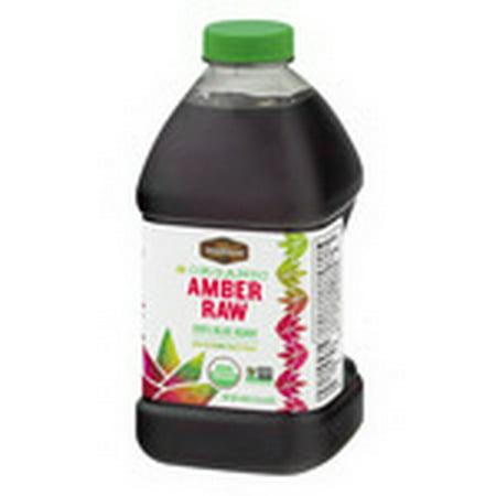 Madhava Honey 20046-4 46 oz Amber Raw Agave 4 Pack (Case)