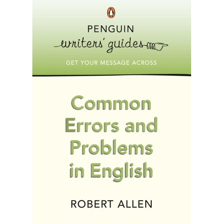 Common Errors and Problems in English - eBook