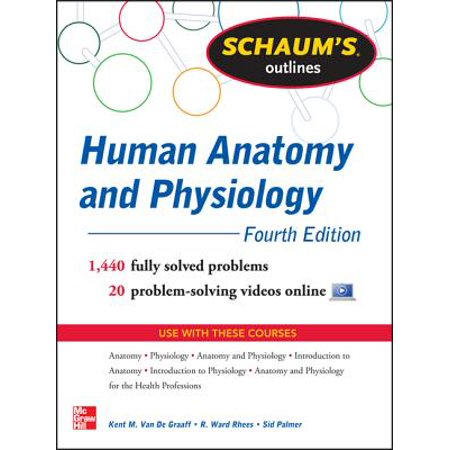 Schaum's Outline of Human Anatomy and Physiology : 1,440 Solved Problems + 20