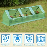 Erommy Portable Mini Greenhouse Outdoor Green Plant Hot HouseGreen