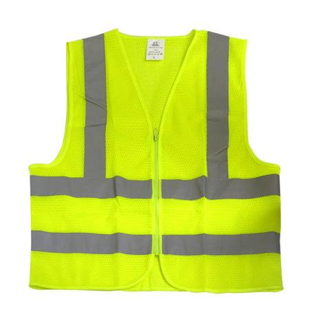 Neiko Safety Vest Yellow Mesh ANSI/ISEA  Large