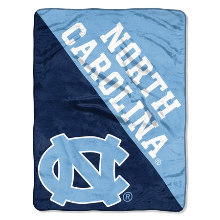 "North Carolina Tar Heels Plush (NCAA North Carolina Tar Heels ""Halftone"" 46""x 60"" Micro Raschel)"