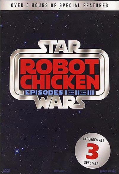 Robot Chicken Star Wars: Episodes 1-3 (DVD) by Warner Brothers