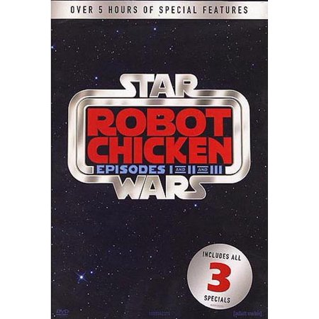 Robot Chicken Star Wars: Episodes 1-3 (DVD)
