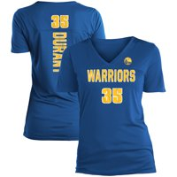 Kevin Durant Golden State Warriors 5th & Ocean by New Era Women's Name & Number V-Neck T-Shirt - Royal