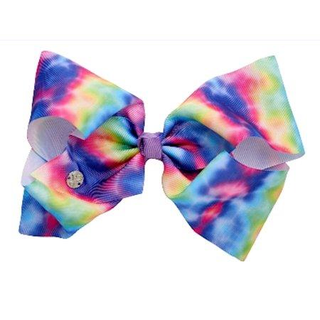 Jojo Siwa Large Cheer Hair Bow Tie Dye