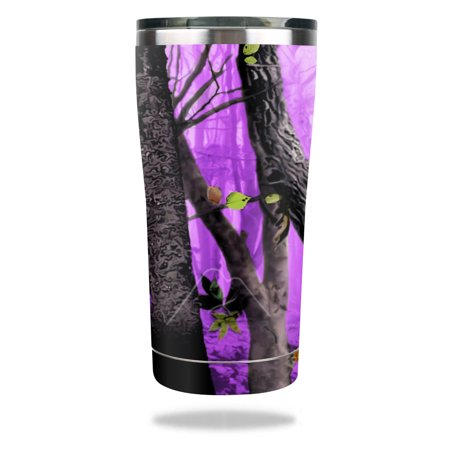 MightySkins Protective Vinyl Skin Decal for Ozark Trail Tumbler (Original Design) 20 oz wrap cover sticker skins Purple Tree