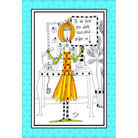 Pictura Order In Dolly Mama Funny Humorous Birthday Card