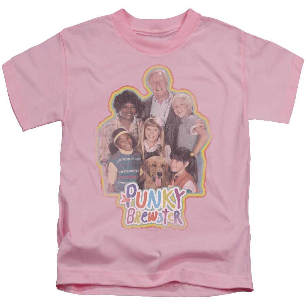 Punky Brewster Boys' Pb Distressed Childrens T-shirt Pink