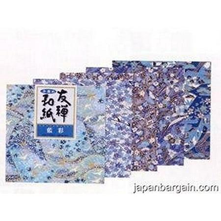 Yuzen Washi Chiyogami Origami Paper 15cm 5 sheets #3252