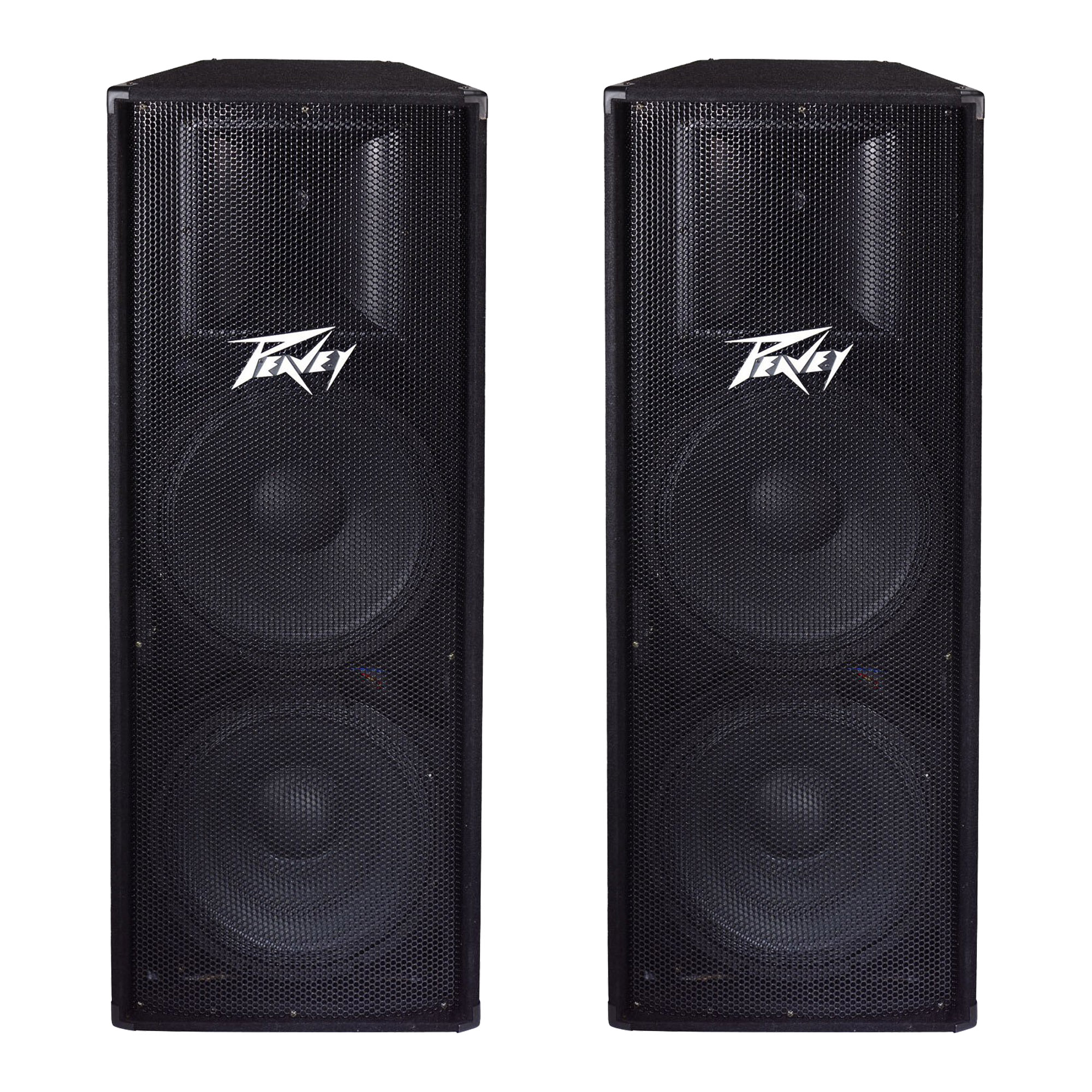peavey pv215 2 way 2800 watt dual 15\