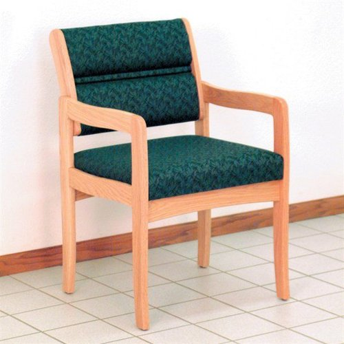 Wooden Mallet DW3-1 Valley Series Standard Leg Guest Chair