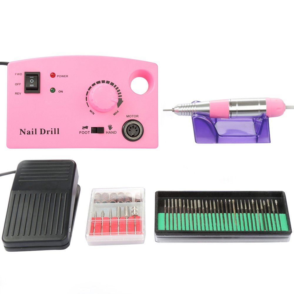 USCOCO Professional Electric Acrylics Nail Art Drill File...