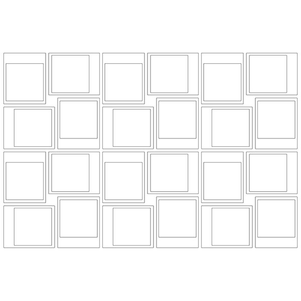 WallPops Snapshot Frames Wall Art Kit