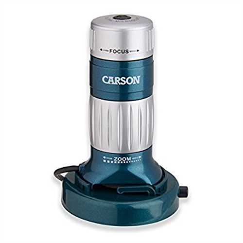 Refurbished Carson zPix 200 Digital Zoom 36-176x Microscope (MM-740)