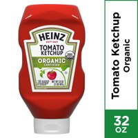 Heinz Organic Certified Tomato Ketchup, 32 oz Bottle
