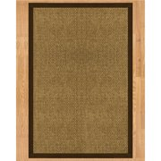 Natural Area Rugs Karis Hand Crafted Fudge Area Rug