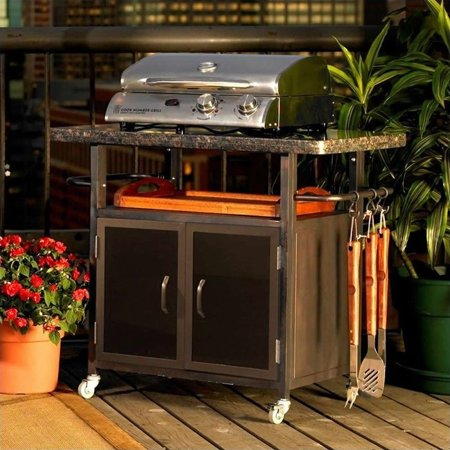 Outdoor Bistro Granite Top Cabinet Product Image