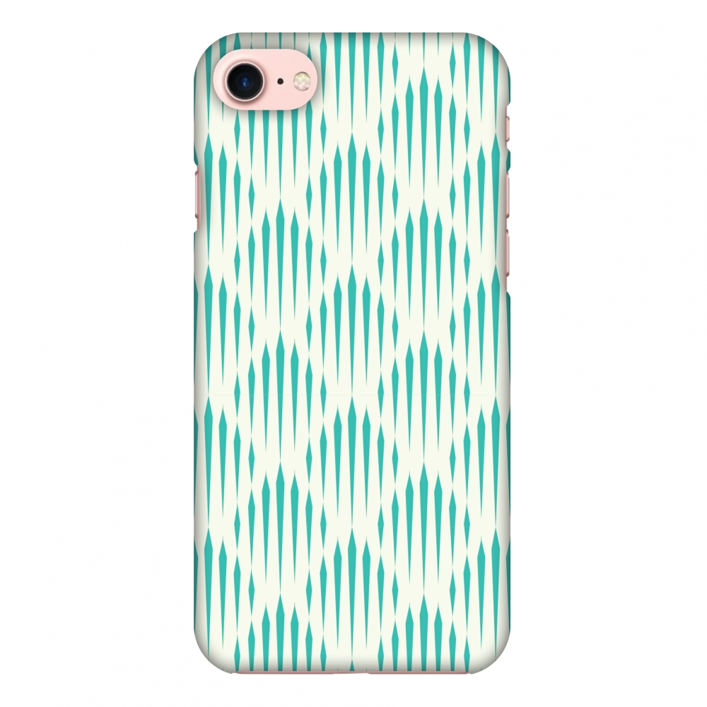 iPhone 7 Case, Premium Handcrafted Designer Hard Shell Snap On Case Shockproof Printed Back Cover with Screen Cleaning Kit for iPhone 7 -Stripes 1 , Slim, Protective
