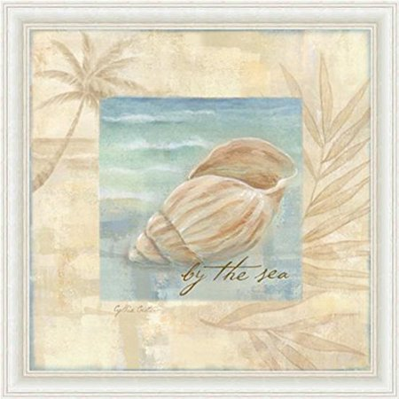 buyartforless Framed Island Shell III by Cynthia Coulter Poster Wall Art 12th Street By Cynthia Vincent