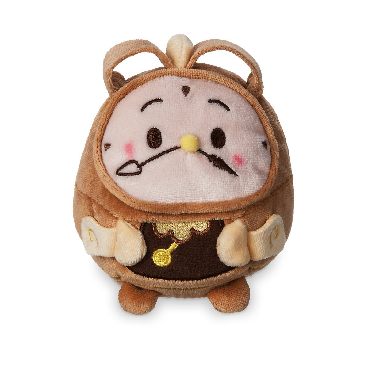 Disney Beauty And The Beast Cogsworth Scented Ufufy Plush Small New With Tags Walmart Com Walmart Com