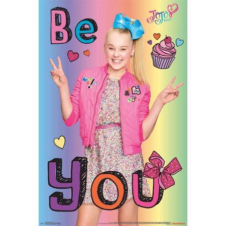 JoJo Siwa Poster - Be You (Each Jo Wall)