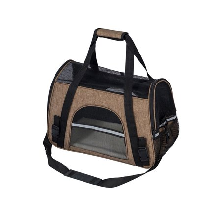 - Pet Dog Carrier Puppy Cat Travel Tote Bag Comfort Safety Shoulder Carrying Bag