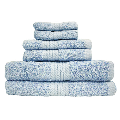 J & M Home Fashions Provence 6 Piece Bath Towel Set by J & M Home Fashions